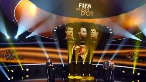 Lista dos finalistas para a bola de Ouro 2013