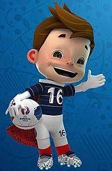 Super Victor é a mascote do Euro 2016